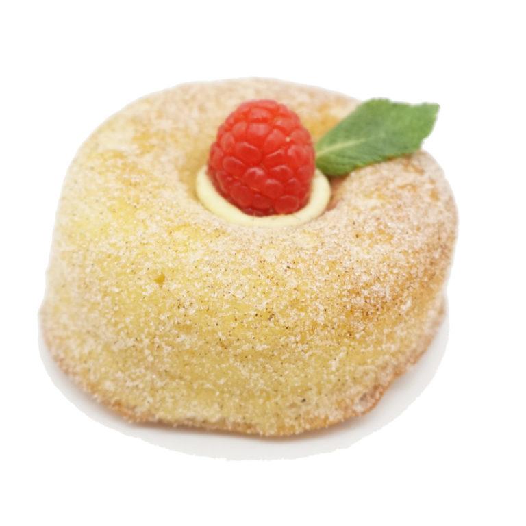 Minikuchen-Himbeere